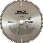 "Bosch PRO12100NF 12"" 100 Teeth Non-Ferrous Blade (Metal Cutting)"