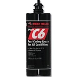Red Head C6 Epoxy Fast Curing 18oz. Cartridge C6-18