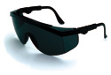 CREWS Smoke Lens Safety Glasses, Tomahawk