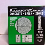 "Toggler 1/4"" Alligator Anchor W/ Flange AF6 (100/Box)"