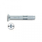 Powers Combo Flat Head Lok-Bolt 1/4'' x 2-1/4'' Stainless Steel 6170S (100/Box)