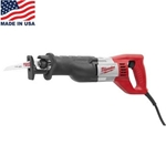 Milwaukee 12 Amp Sawzall Reciprocating Saw with 3/4-in Stroke 6509-31