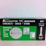 "Toggler 5/16"" Alligator Anchor W/ Flange AF8 (100/Box)"